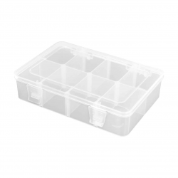 Robitronic Assortment Case 8 Compartments 186x125x43mm