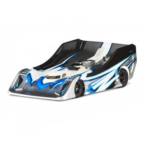 Xtreme Aereodynamics 1/8 On/Road Racing Body FLAT Pre-Cut Mugen