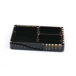 ArrowMax Multi Alu Case For Screws (120X80X18mm) Black Golden