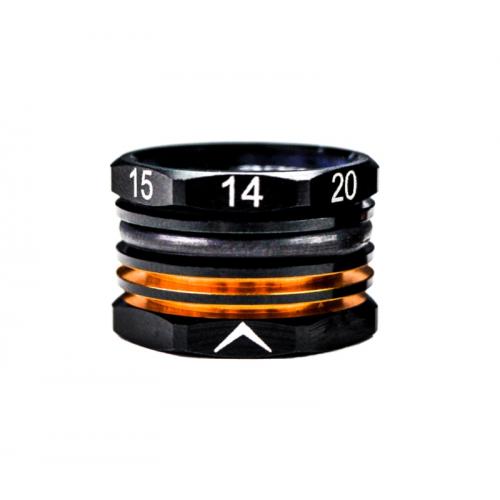 ArrowMax 14-20mm Adjustable Ride Height Gauge Black Golden
