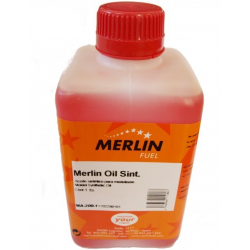Merlin Fuel Synthetic Oil For Use in Fuel Blends 1lt