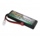 Gens Ace 3000mAh 7.4V 50C HardCase LiPo Battery Pack with T-Plug