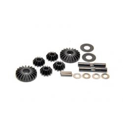 PA8347 BMT 801 Set ingranaggi differenziale in acciaio