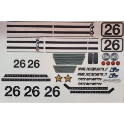 Delta Plastik Adesivi per carrozzeria Shelby Cobra (1/8)