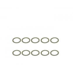 ArrowMax Rasamenti in acciaio 6x8x0.3mm (10pz)