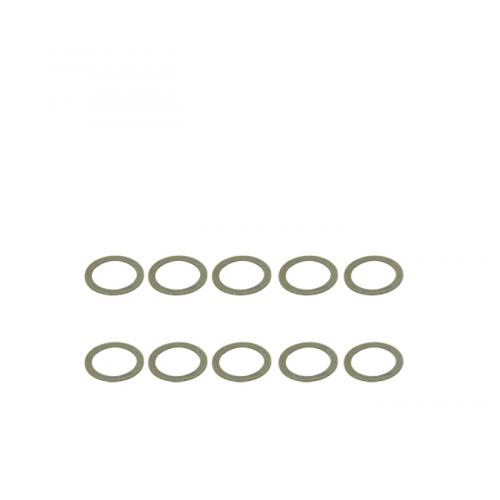 ArrowMax Stainless Shims 6x8x0.3mm (10pcs)