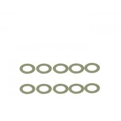 ArrowMax Rasamenti in acciaio 6x10x0.2mm (10pz)