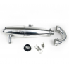 Sirio 3 Chamber EFRA 2058 Off/Road One Piece Inline Tuned Pipe Se
