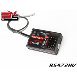Power Star RS472HV Compatible Receiver 2.4GHZ - FHSS 4 / 3 for Sanwa Radio
