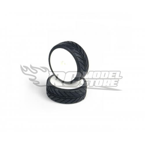 GRP Radial Tire Touring Car 1/10 on Rims (D Compound)