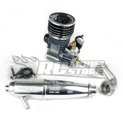 Bliss RC F7 On/Road 7 port On/Road With Efra 2055 Pipe Set