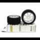 Enneti Rear Touring Car 1/10 Mounted on Light Rims (32 Shore)