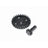 HP160090 HPI Savage X/XL/Flux Forged Bulletproof Differential Bevel Gear 29T/9T Set