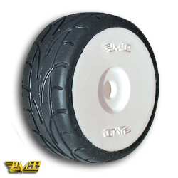 """PMT Rally 1/8 Tires Mounted on new Rims (""""M10"""" Hard)"""
