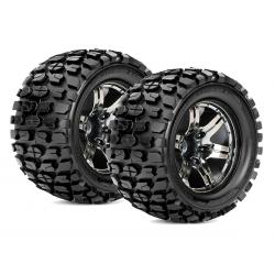 Roapex TRACKER 1/10 Monster Truck Tires (2)