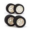 "Matrix Front/Rear 1/8 On/Road Tires on Rims ""NEW FIVE"" Precision 32/35 Shore"