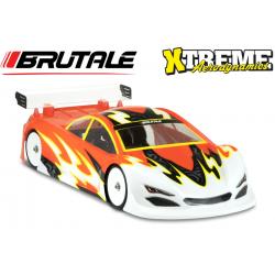 Xtreme Aereodynamics Carrozzeria BRUTALE EP Light con adesivi (1/10-190mm)
