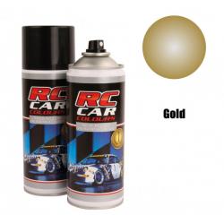 Rc Car Vernice Spray per lexan 150ml (Oro Metallizzato)