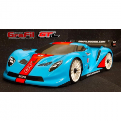 Grafil Bodies GT-L SPEED (Ford MK2) 1/8 GT Body With Decals