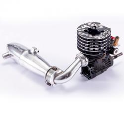 Motore O.S. Speed T1204 On/Road completo di scarico