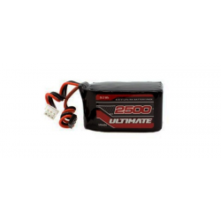 Ultimate Racing Pacco Batteria Li-Fe TX / RX 6,6V 2500mAh (Piramide)