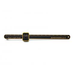 ArrowMax Shock Length Gauge Black Golden